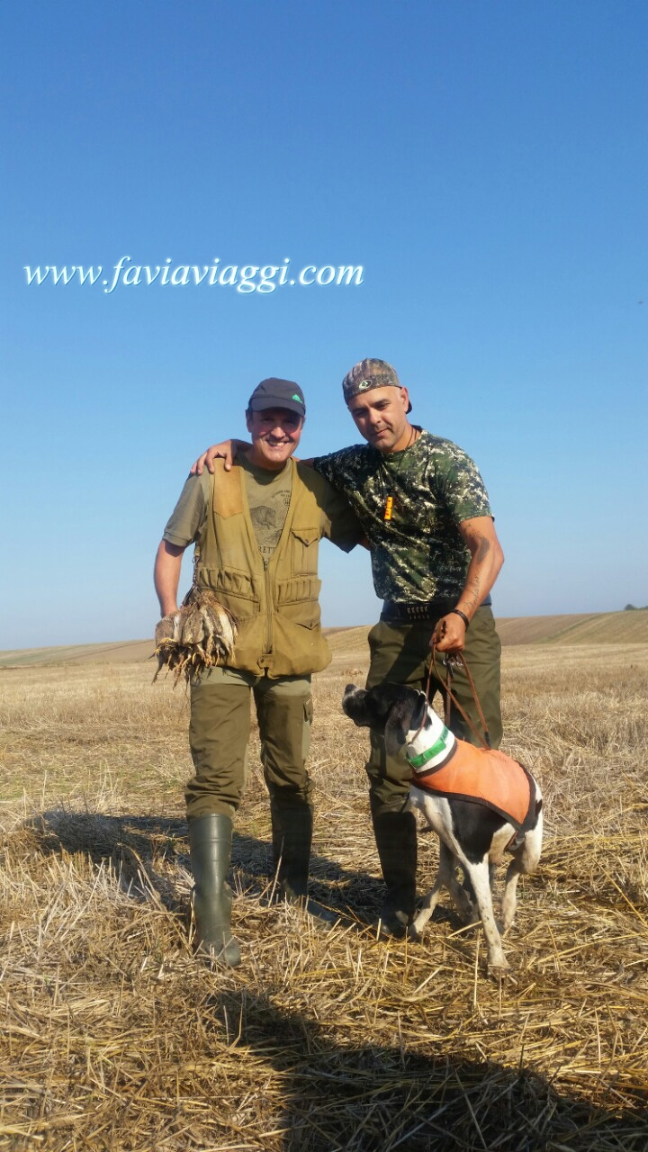 Quail Hunting Trip in Bulgaria