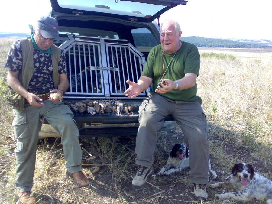 Quail Hunting in Europe
