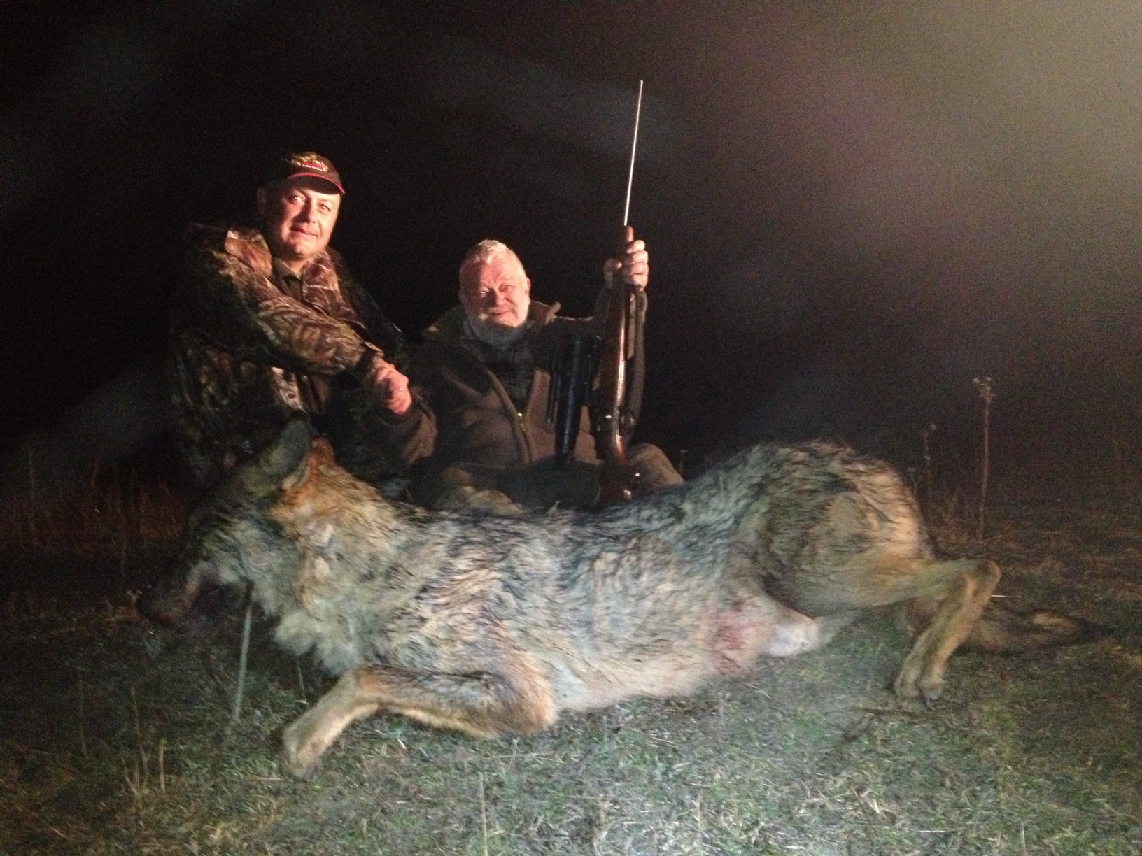 Macedonia Wolf Hunting