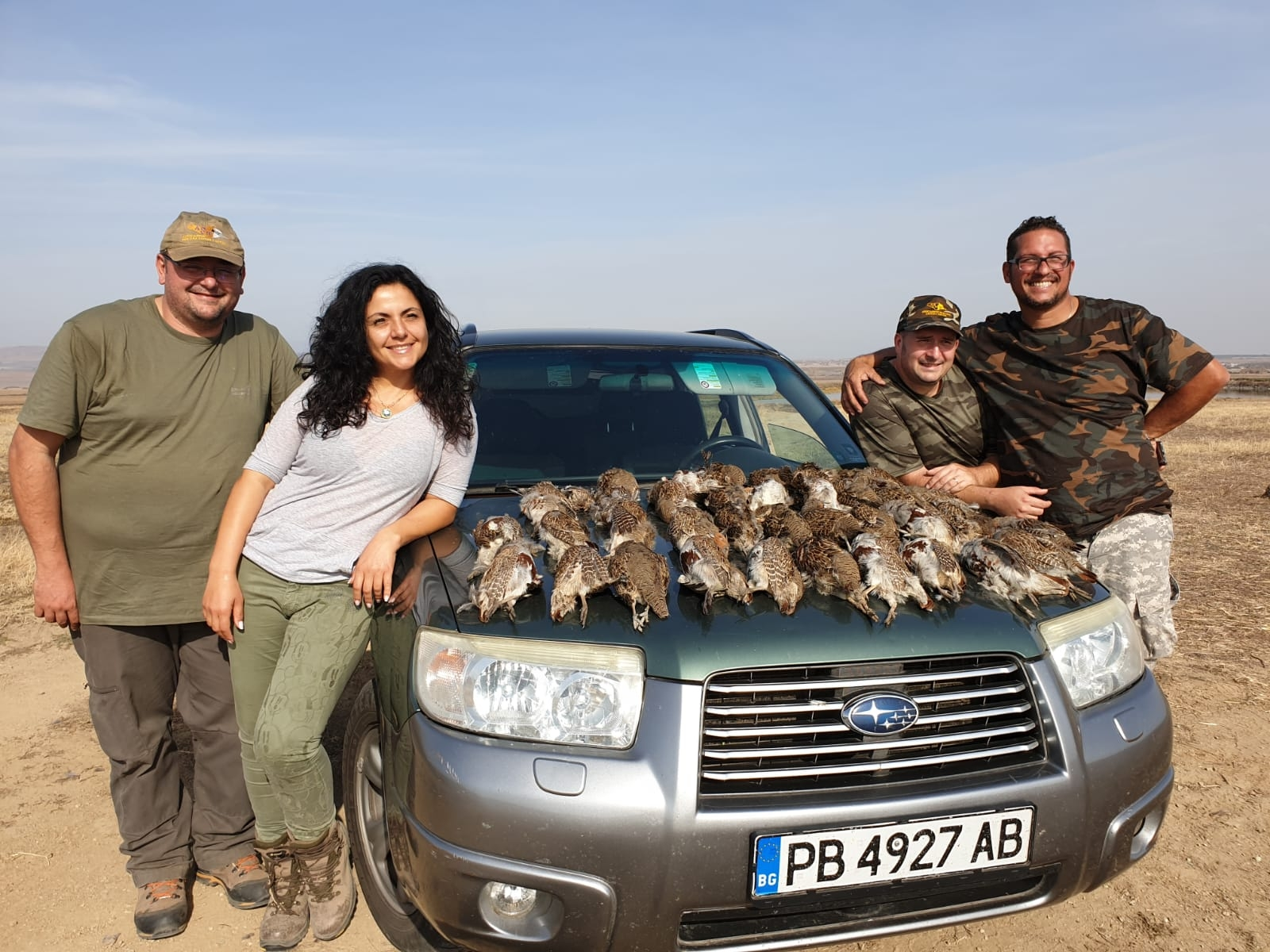 Group Hunt for Partridges