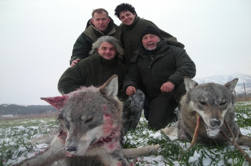 Group Wolf Hunting Trip