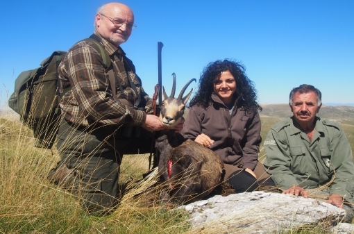 Chamois Group Hunting Trip