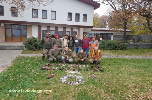 Pheasant Group Hunting Trip