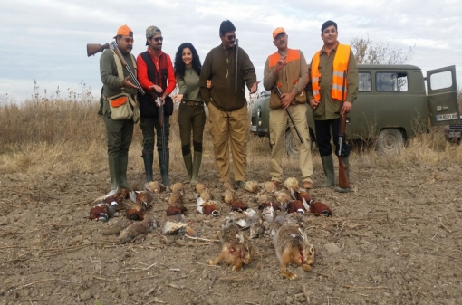 Pheasant Hunting Group Trip