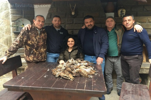 Small Game Group Hunting Trip