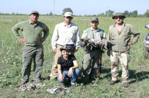 Turtle-Dove Group Hunting Trip