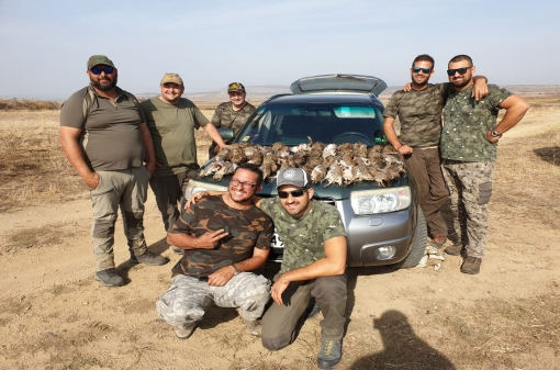 Partridge Group Hunting Trip