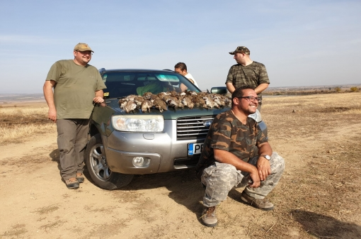 Hunting Partridges in Bulgaria