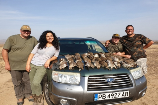 Hunt Partridges in Europe