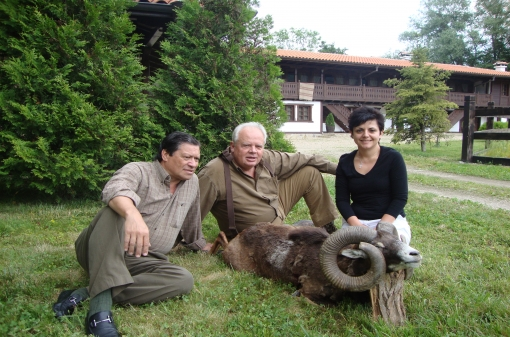 Mouflon Trophies Hunting in Bulgaria